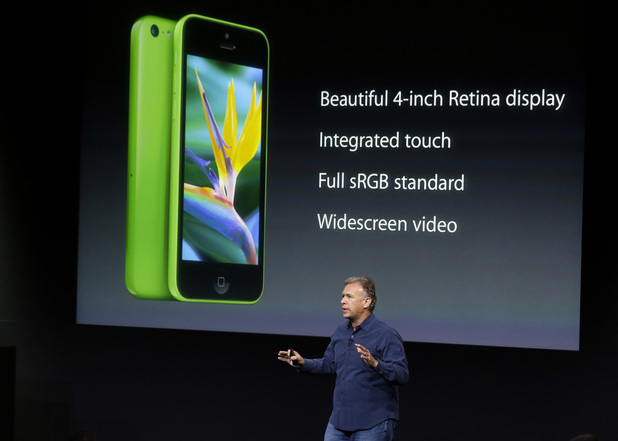 Phil Schiller, Apple's senior vice president of worldwide product marketing, talking about the new iPhone 5c