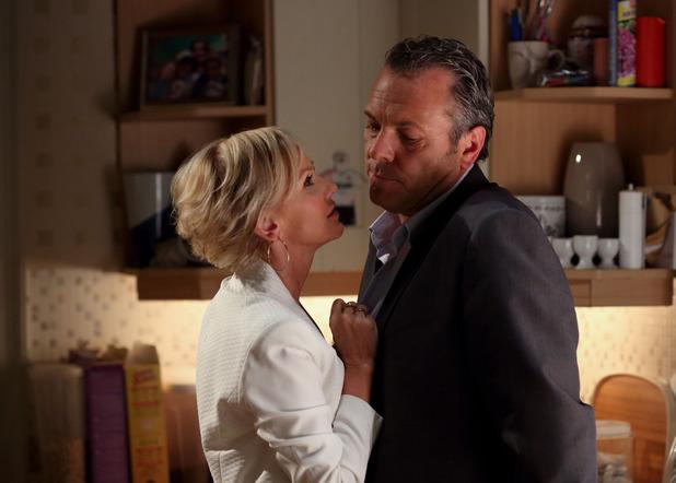 David upsets Naomi.