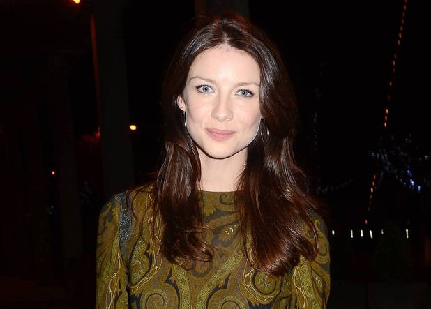 Caitriona Balfe arriving at The Saturday Night Show, Dublin.