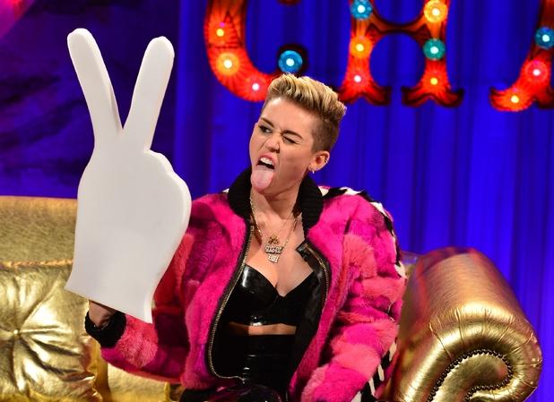 Miley Cyrus on 'Alan Carr: Chatty Man'