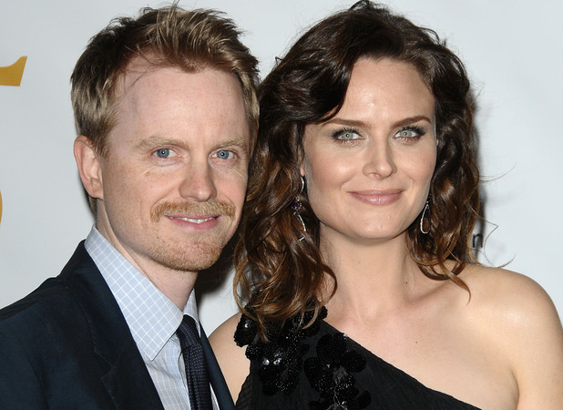 David Hornsby and Emily Deschanel