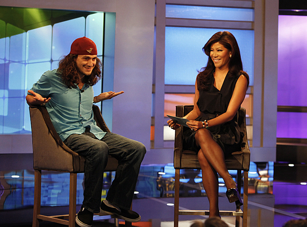 Big Brother USA's McCrae is interviewed by Julie Chen