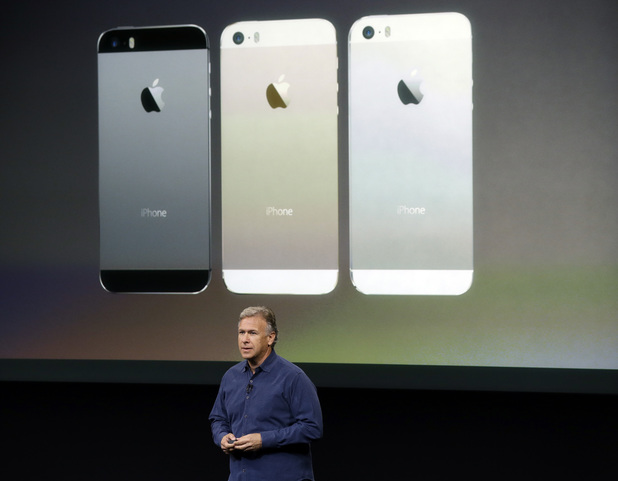 Phil Schiller, Apple's senior vice president of worldwide product marketing, talking about the new iPhone 5s