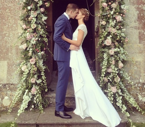 Professor Green and Millie Mackintosh marry