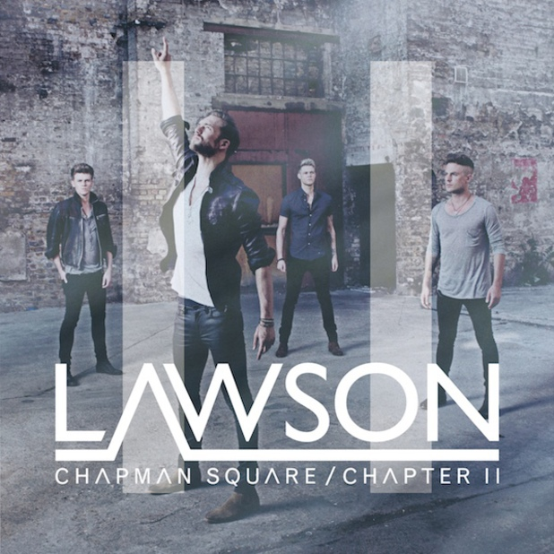 Lawson 'Chapman Square / Chapter II' album artwork.