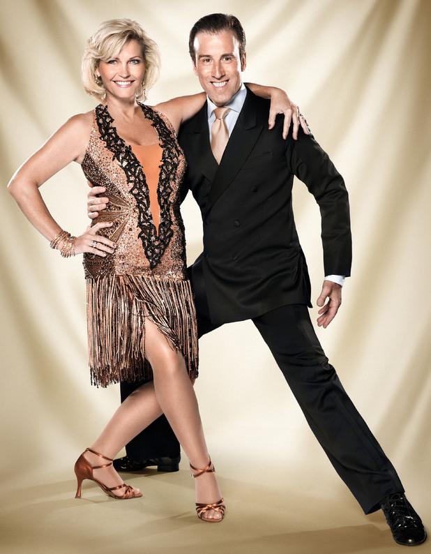 Fiona Fullerton and Anton du Beke