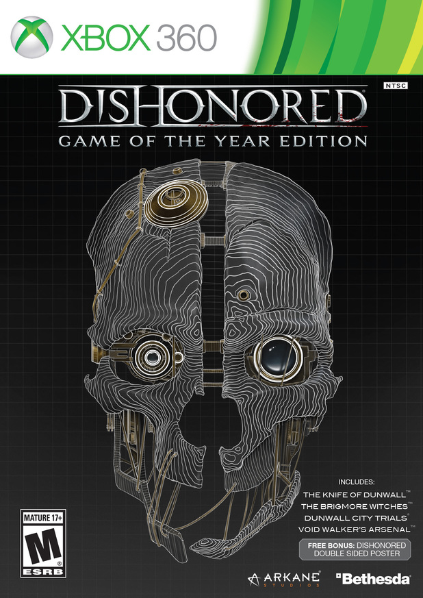 Dishonored Game of the Year Edition pack shot