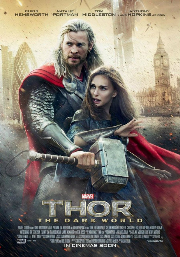 'Thor: The Dark World' UK poster