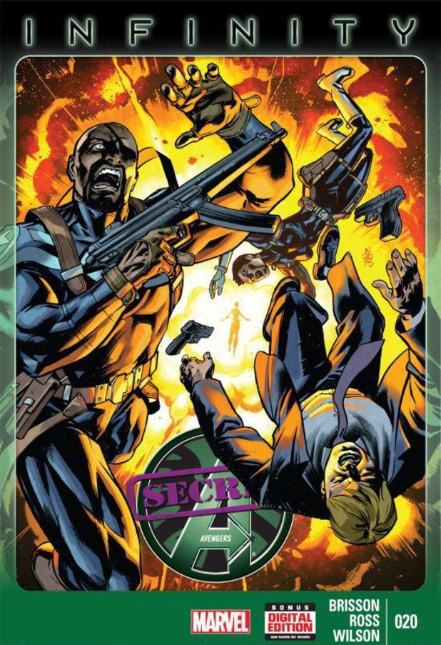 Secret Avengers #10 cover design