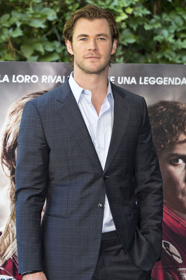 Chris Hemsworth attends the 'Rush' Photocall in Rome