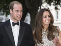 Prince William and the Duchess of Cambridge attend awards do in Central London.