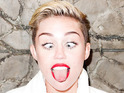 Star gets ready for 'Wrecking Ball' video in new photos from Terry Richardson.