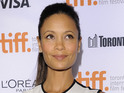 Thandie Newton expresses opinion that Beyoncé is a role model for young women.