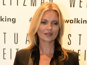 Milan Fashion Week SS14 - Celebrity Sightings - Kate Moss visits the Stuart Weitzman Flagship Store Opening Kate Moss