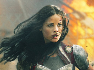 Jaimie Alexander as Sif in 'Thor: The Dark World'.
