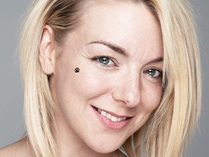 Sheridan Smith goes BearFaced for BBC Children in Need.