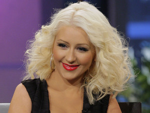Christina Aguilera on The Tonight Show with Jay Leno