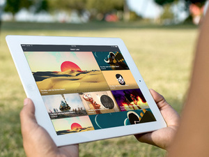 Vimeo for iOS 7 on the iPad