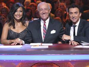 Dancing With The Stars Fall 2013, episode1: Carrie Ann Inaba, Len Goodman & Bruno Tonioli