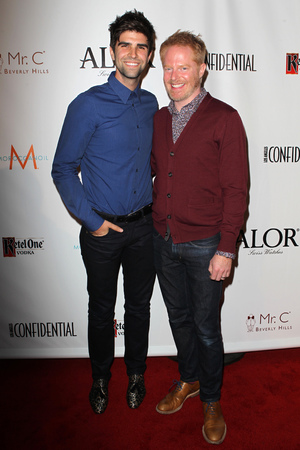 Justin Mikita, Jesse Tyler Ferguson Los Angeles Confidential Magazine's Pre-Emmy Party Held