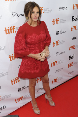 Julia Roberts, August Osage County premiere at Roy Thomson Hall during the 2013 Toronto International Film Festival