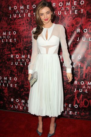 'Romeo & Juliet' play, Opening Night, Broadway, New York, America - 19 Sep 2013 Miranda Kerr