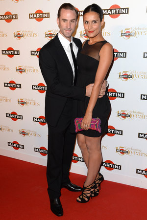 Joseph Fiennes and wife Maria Dolores Dieguez  MARTINI celebrates 150 years of Italian Style at their glittering anniversary gala party at Lake Como in Italy. Picture date: Thursday September 19, 2013
