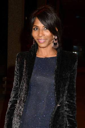 Sinitta arrives at RTE Studios to appear on 'The Late Late Show.'