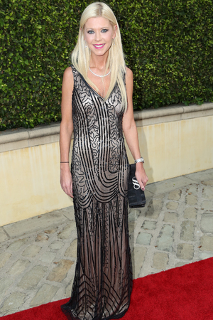Tara Reid, Bobby Brown's pre-Emmy party at his home in Beverly Hills