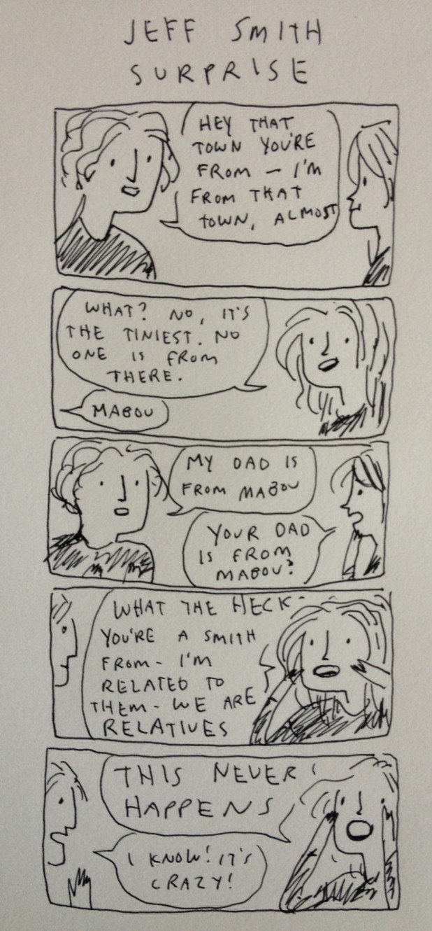 Kate Beaton's Jeff Smith strip.