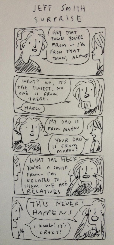 Kate Beaton's Jeff Smith strip.