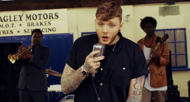 James Arthur 'You're Nobody 'Til Somebody Loves You' music video still.