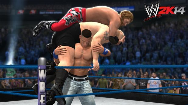 WrestleMania 25: Edge vs. John Cena vs. Big Show