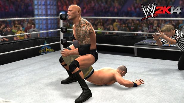 WrestleMania 29: The Rock vs. John Cena 2