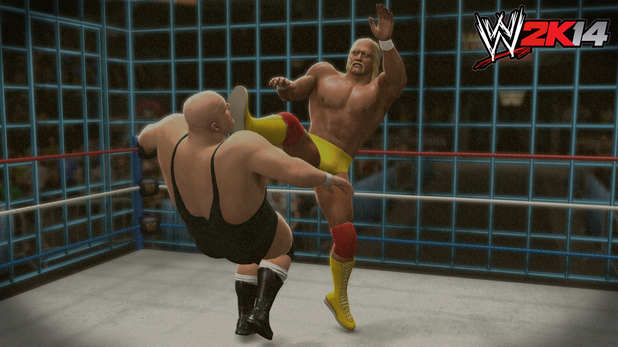 Hulk Hogan vs. King Kong Bundy