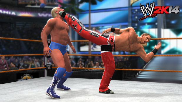 Shawn Michaels vs. Ric Flair