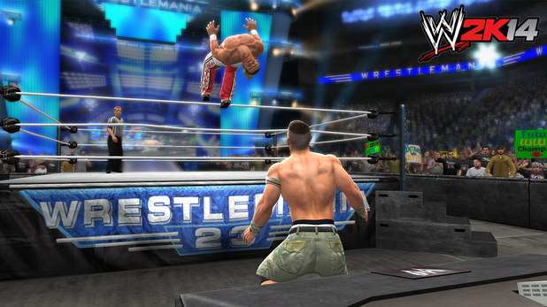 John Cena vs. Shawn Michaels