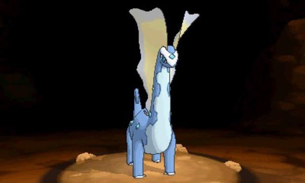 Pokemon X and Y: Aurorus