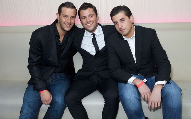 Elliott Wright, Mark Wright and James Argent