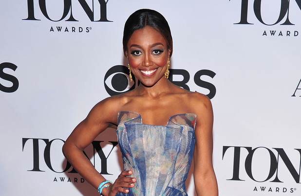 Patina Miller on the red carpet at the 67th Annual Tony Awards.