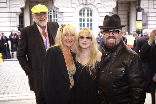 Mick Fleetwood, Stevie Nicks, Christine McVie and Dave Stewart at the 'In Your Dreams' premiere in London - September 16, 2013