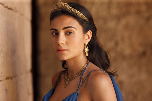 Ariadne (Aiysha Hart) in BBC One's Atlantis