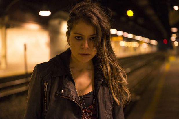 Tatiana Maslany as Sarah in 'Orphan Black'