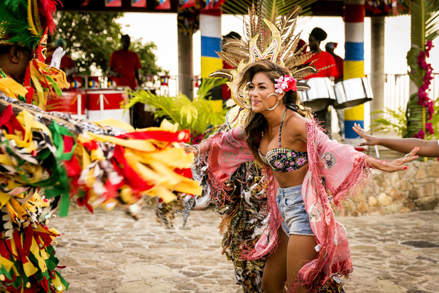 'X Factor' TV programme, Judges' houses, Antigua, West Indies, Caribbean - 18 Sep 2013Nicole Scherzinger 18 Sep 2013