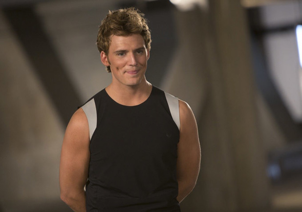 Sam Claflin Finnick Odair The Hunger Games Catching Fire