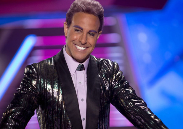 Stanley Tucci Caesar Flickerman The Hunger Games Catching Fire