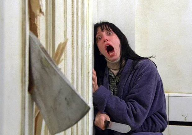 Shelley Duvall in Stanley Kubrick's 'The Shining'.