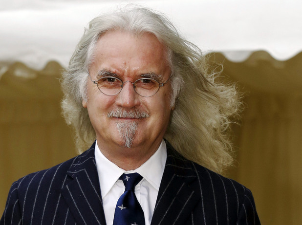 Billy Connolly photographed in April 2013