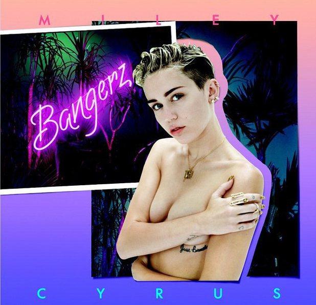 Miley Cyrus 'Bangerz' deluxe artwork