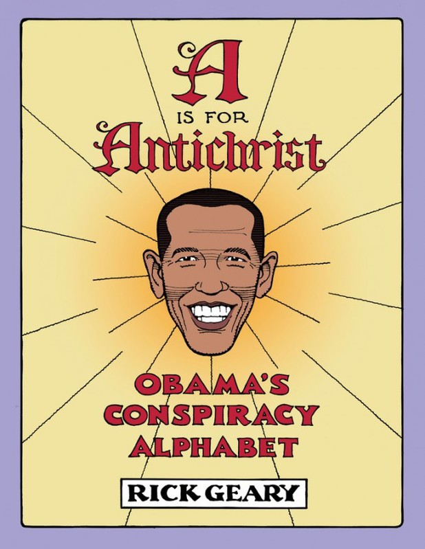 'A is for Antichrist: Obama's Conspiracy Alphabet'